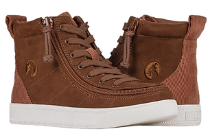 Billy Cognac Cord Classic High Lace