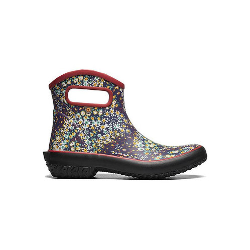 Bogs Patch Ankle Boot - Red/Multi