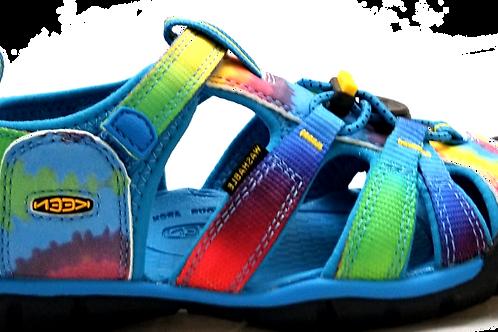 Keen Seacamp II CNX Rainbow Tie Dye
