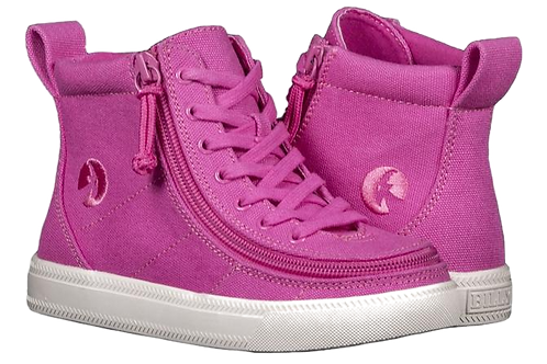 Billy Pink Raspberry Kid's Classic High Lace