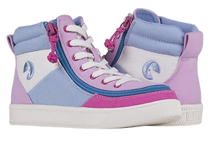 Billy Pink Colorblock Classic Hi Lace