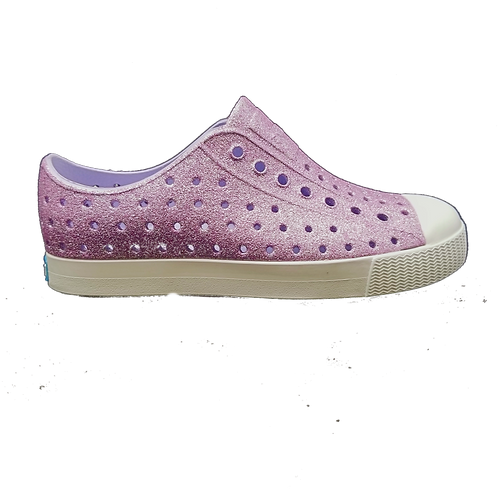 Native Shoes Jefferson Purple Bling