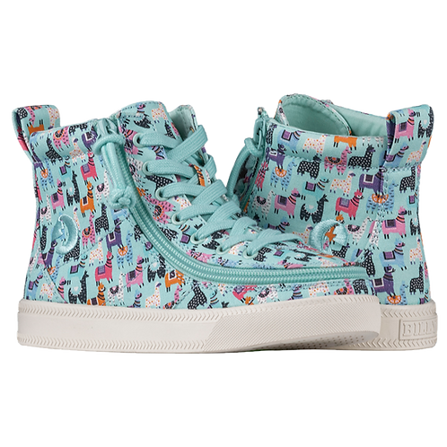 Billy Mint Llamas Kid's Classic High Lace
