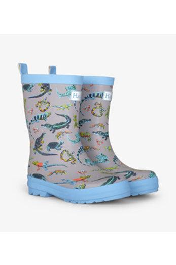 Hatley Rambunctious Reptiles Matte Rain Boots