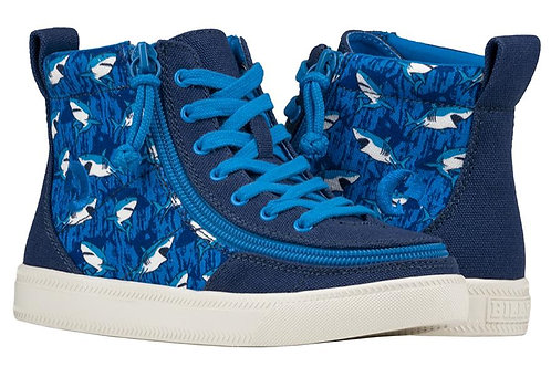 Billy Blue Sharks Kid's Classic High Lace