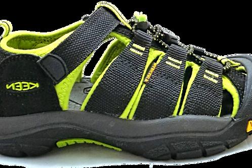 Keen H2 Newport Black/Lime Green
