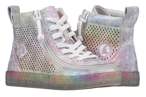 Billy Rainbow Crackle Kid's Classic High Lace
