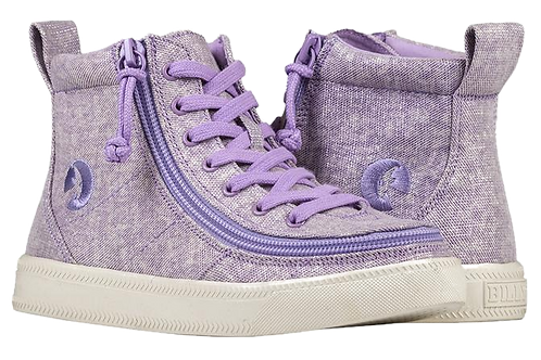Billy Lilac Kid's Classic High Lace