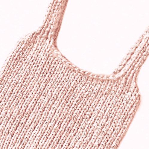 Rosé Pink Knit Top