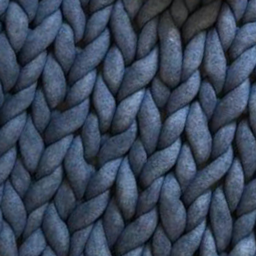Midnight Navy Chunky Blanket