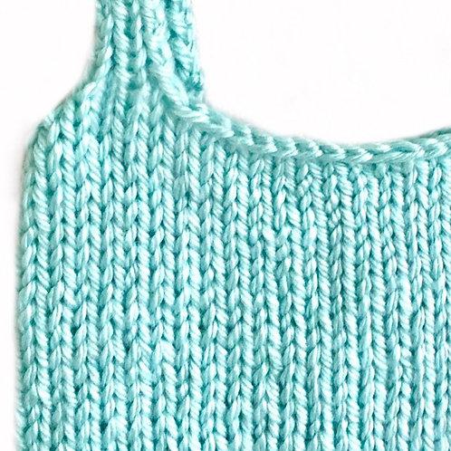 Aqua Knit Top