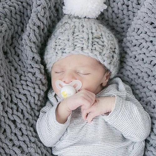 Seattle Grey Blanket for Babies