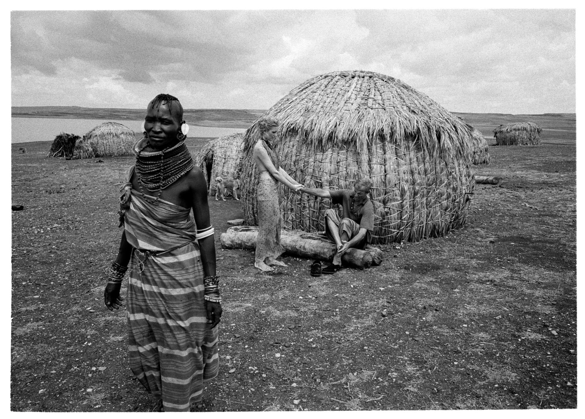 Peter Beard Lake Turkana #2