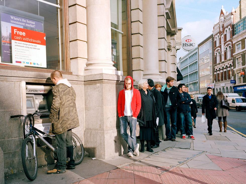 Cash machine Old Street