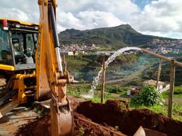 Moradores da Lagoa ganham reforço no abastecimento com intervenção da SANEOURO