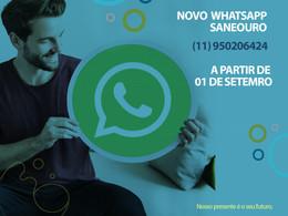 Central de atendimento via WhatsApp a partir do dia 1º de setembro