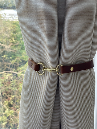 Leather Curtain Tie backs