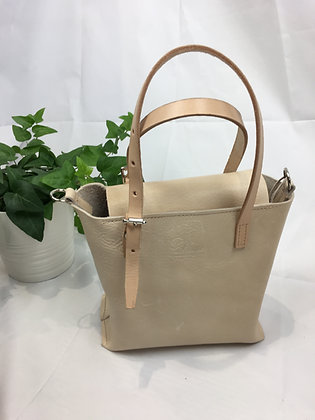 mini closed top tote