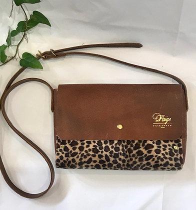 Cross Body Cheetah Print Bag