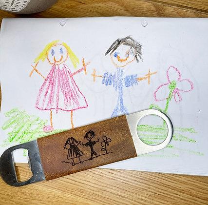 Kids Drawing Bottle Opener