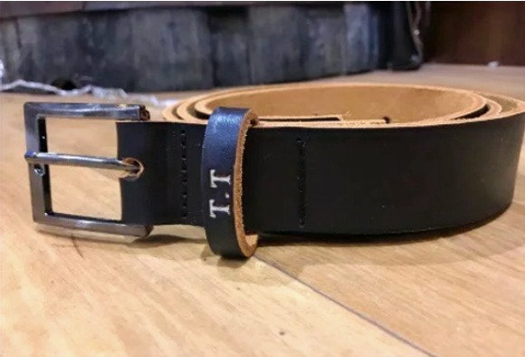 Mens Thick Leather Belt