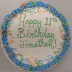 Happy Birthday Ice Cream Cake