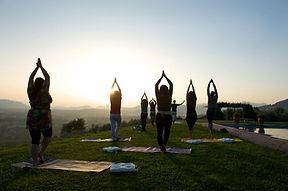 yoga morning class