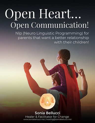 Open your Heart...open communication E-book