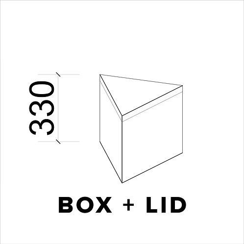 (2) BOX + LID - SMALL