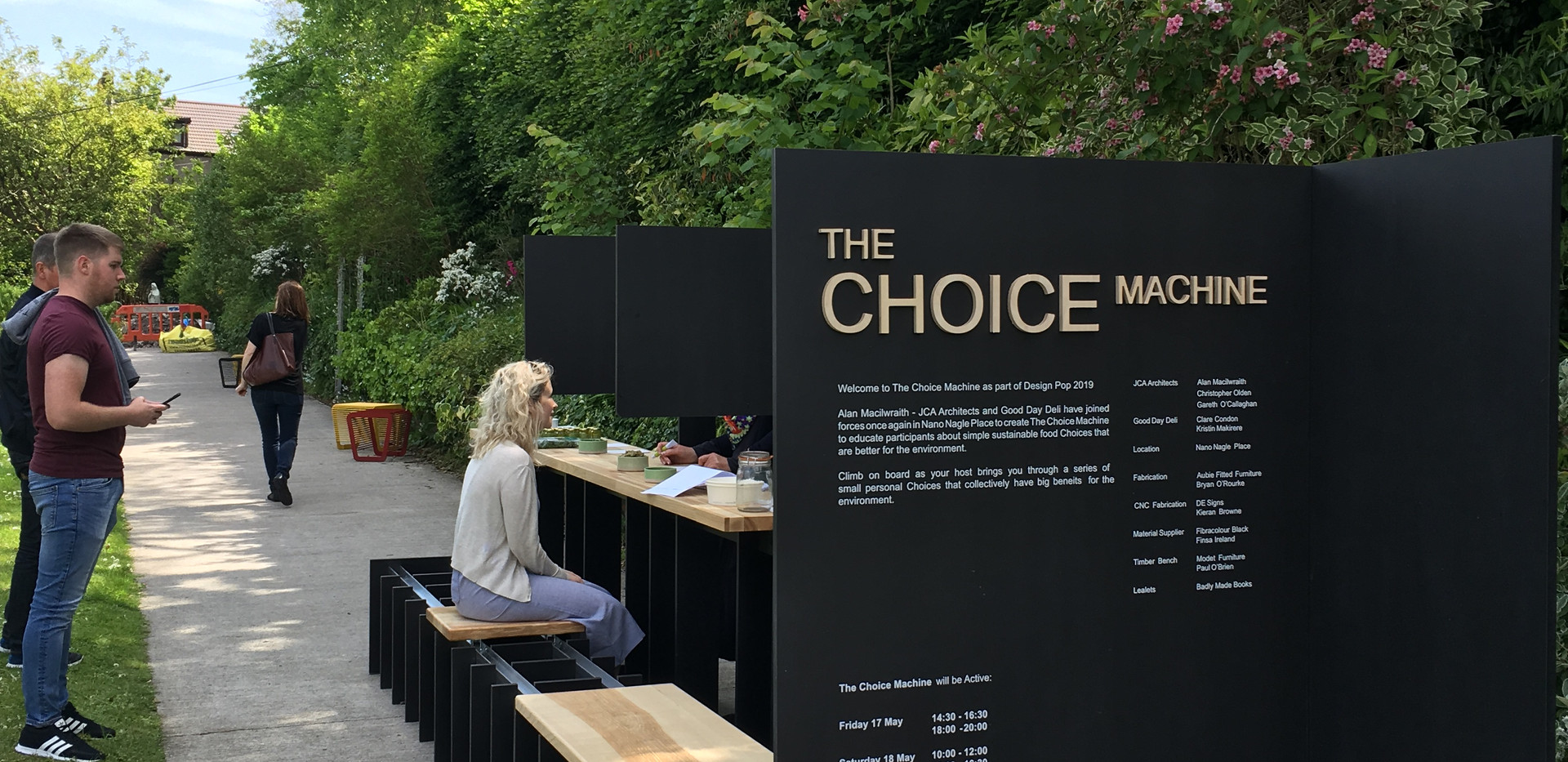 The Choice Machine _