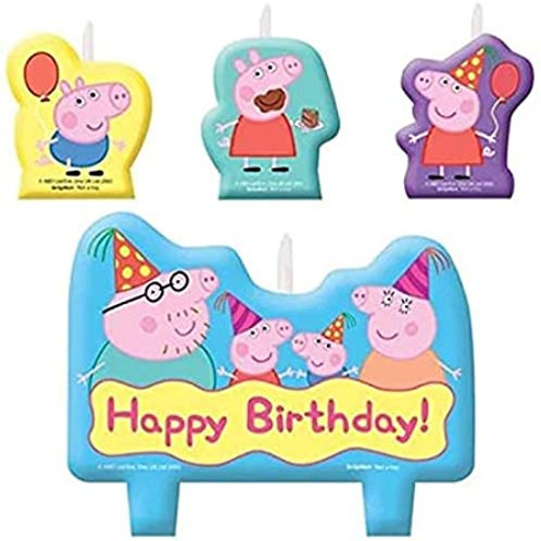 Peppa Pig™ Birthday Candle Set