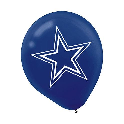 Dallas Cowboys 6ct. Balloons