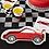 Thumbnail: Party Race Car Shaped Plates