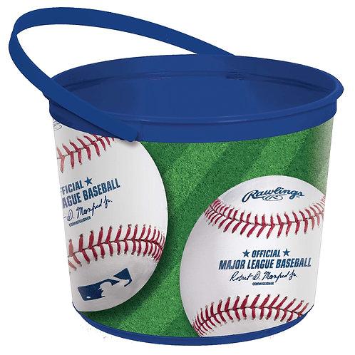 MLB Baseball Favor Bucket/Container