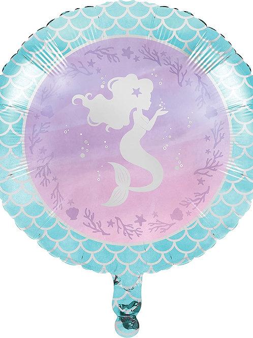 """18"""" Mermaid Foil Balloon"""