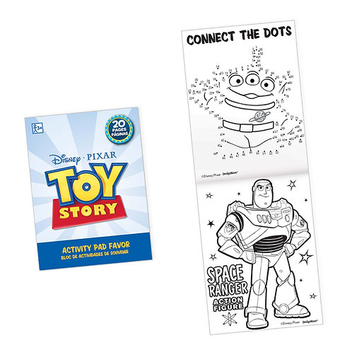 Toy Story Activity Pad