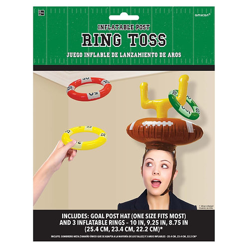 Inflatable Post Ring Toss Game