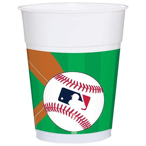 MLB Baseball 16oz Plastic Cups