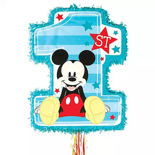 First Birthday Mickey Mouse Pinata