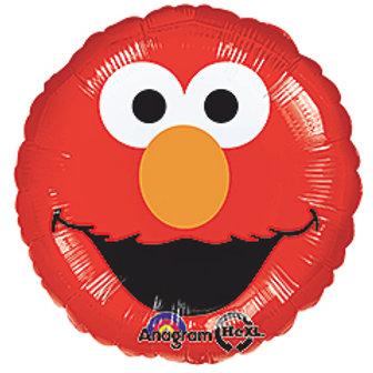 """17"""" Smiley Face Elmo Balloon"""