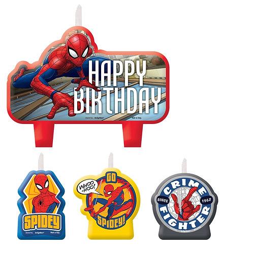 Spider-Man™ Webbed Wonder Birthday Candle Set