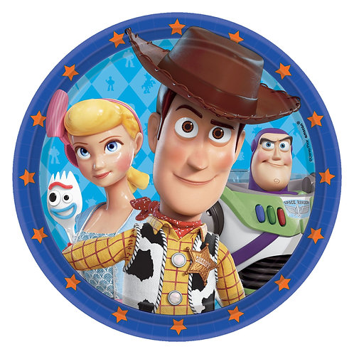 """Toy Story 9""""Round Plates"""