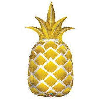 """44"""" Golden Pineapple Balloon"""
