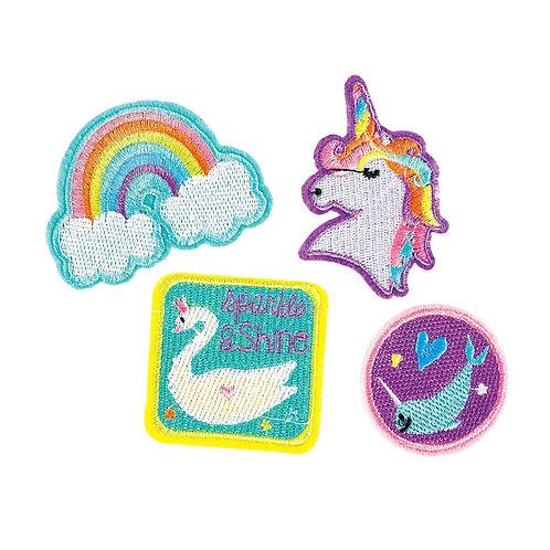 Magical Unicorn Rainbow Patches