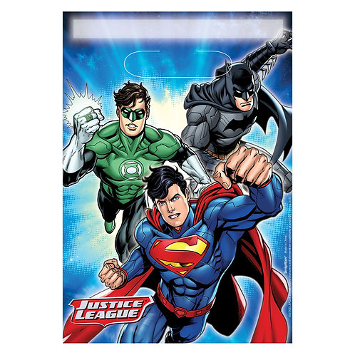 Justice League™ Folded Loot Bags