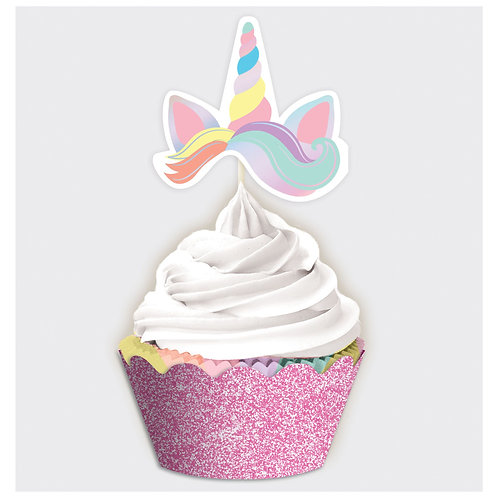 Magical Rainbow Cupcake Kit