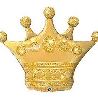 "41"" Golden Crown Balloon"