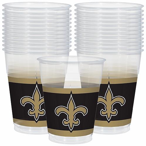 New Orleans Saints Plastic Cups