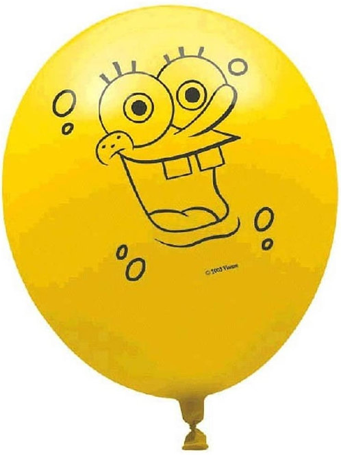 "Spongebob Squarepants 12"" Latex Balloons"