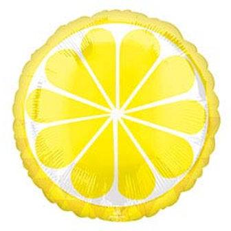 """17"""" Lemon (Fruit) Slice Round Balloon"""